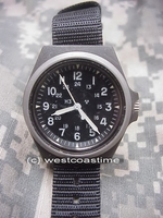 Stocker & Yale desert storm military watch model 184