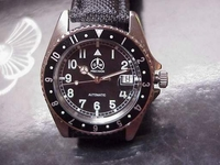 O & W new M-5 Military Style  watch GMT style