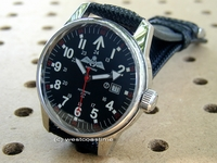 IWI RANGER - Polished case oversize Jump watch