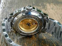 Click here to see enlarged photo of Exhibition back of this watch