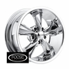 "18x8"" Foose Classics F105 Legend Chrome Wheels Rims 5x4.75"" lug pattern +01 mm offset 4.50"" backspace"