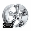 "18x9"" Foose Classics F105 Legend Chrome Wheels Rims 5x4.75"" lug pattern +07 mm offset 5.25"" backspace"