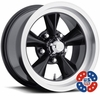 "15x7"" US Mags U106 Black wheels rims 5x4.50"" Ford lug-pattern 3.75"" backspace"