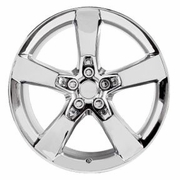 2010 Camaro SS Reproduction Wheel Chrome Straight Shot