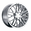 "18x8.5"" Chrome Corvette ZR1 Replica Wheels Rims for Chevy Corvette C4 C5 and C6"