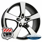 "20x8"" Black Camaro SS Replica Wheels Rims for Chevy Camaro 2010-2013"