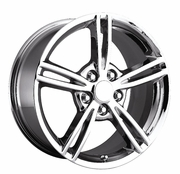"19x10"" Chrome 2008 Corvette Replica Wheels Rims for Chevy Corvette C6"