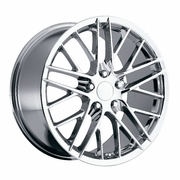 "17x8.5"" Chrome Corvette ZR1 Replica Wheels Rims for Corvette C4 and C5"
