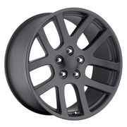"20 inch 20x9"" Dodge Ram 1500 SRT10 OE Replica Matte Black Wheels Rims 5x5.5"" 5x139.7mm"