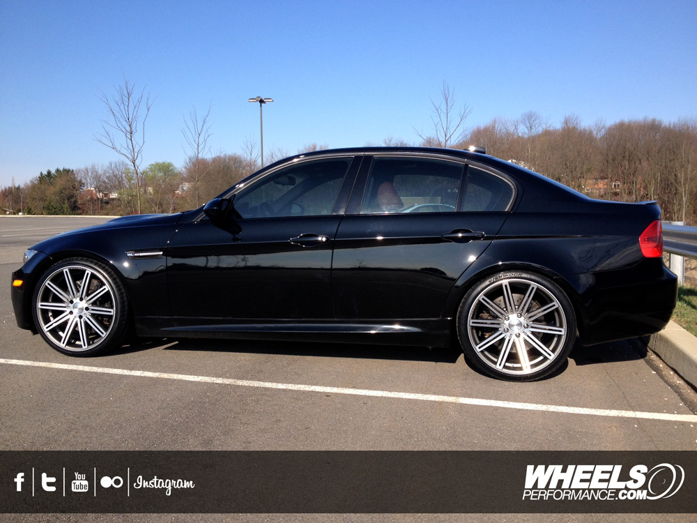 "OUR CLIENT'S BMW M3 E90 WITH 20"" VOSSEN CV4 WHEELS"