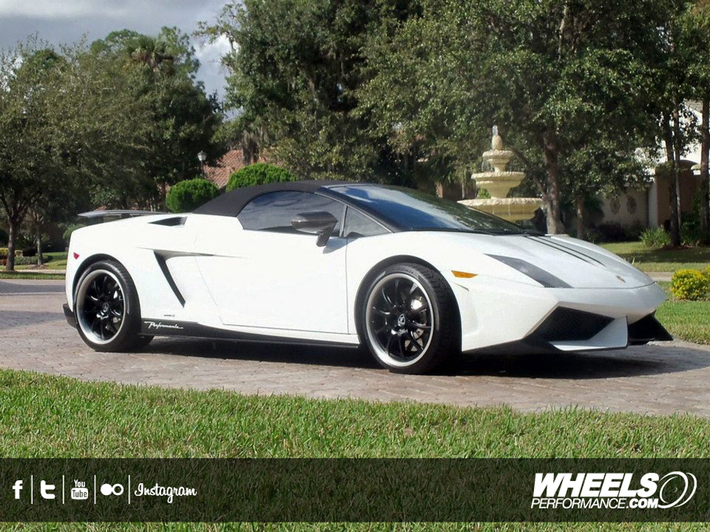 "OUR CLIENT'S LAMBORGHINI PERFORMANTE WITH 19"" FORGELINE GZ3P WHEELS"
