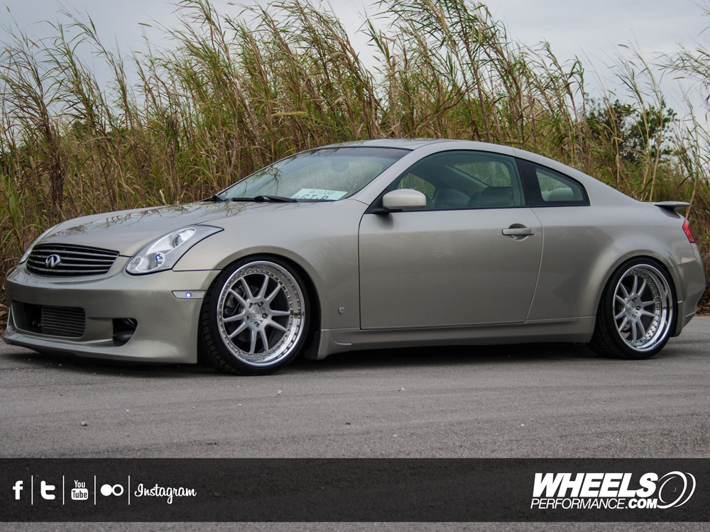 "OUR CLIENT'S INFINITI G35 WITH 20"" ADV.1 ADV5.2TF WHEELS"