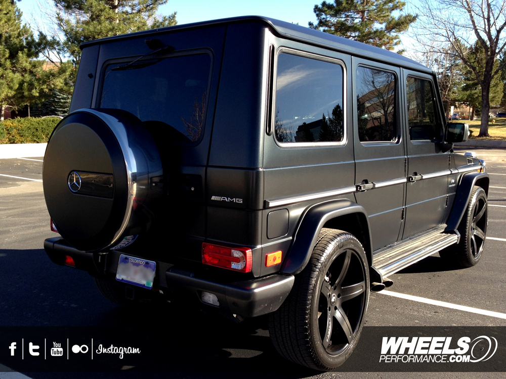"OUR CLIENT'S MERCEDES G55 AMG WITH 22"" FORGIATO AGGIO ECL WHEELS"