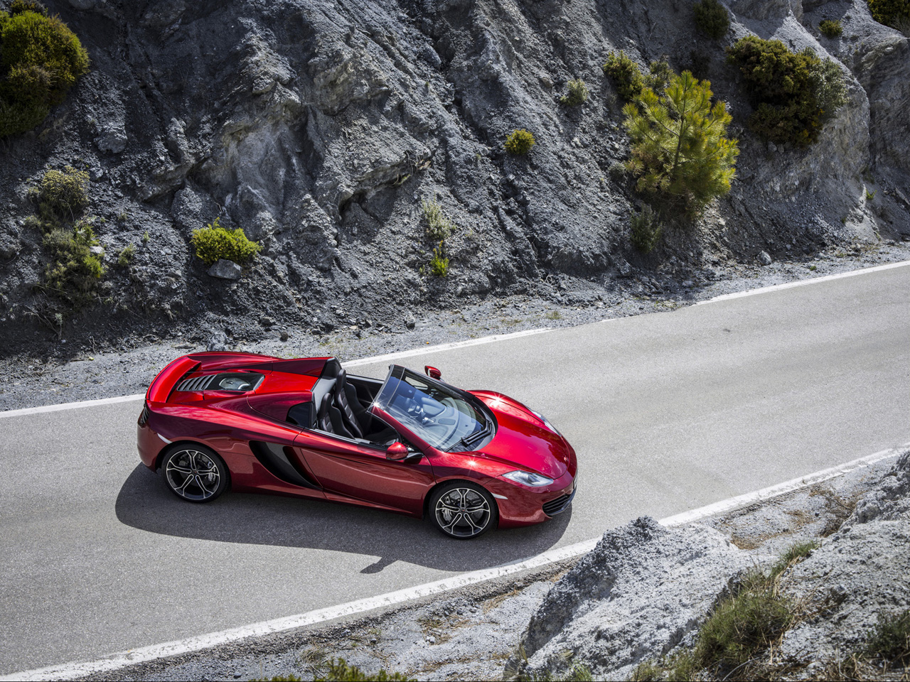 CG McLAREN MP4-12C SPIDER