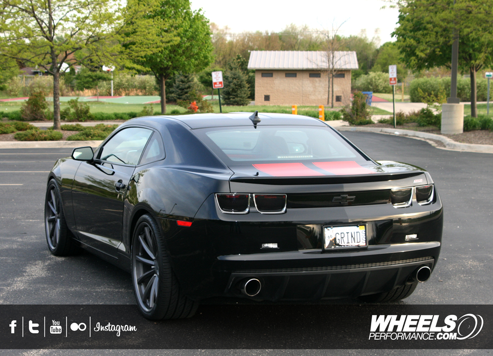 "OUR CLIENT'S CHEVROLET CAMARO SS WITH 22"" VOSSEN CV1 WHEELS"
