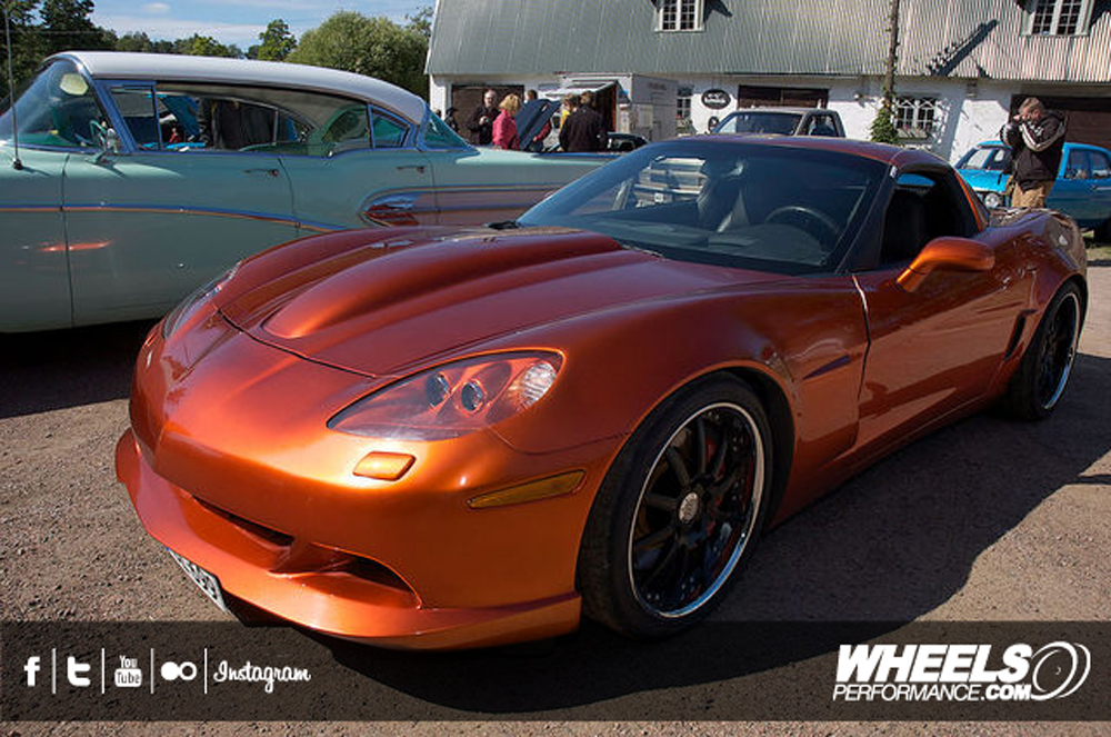 "OUR CLIENT'S CHEVROLET CORVETTE C6 Z06 WITH 19/20"" MODULAR CONCEPT 02 WHEELS"
