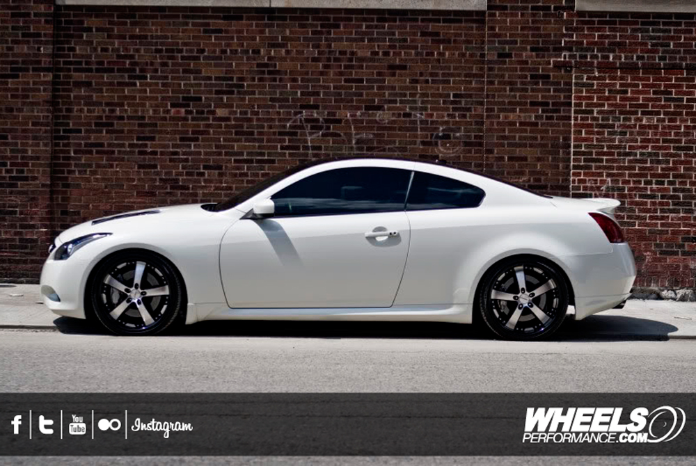 "OUR CLIENT'S INFINITI G37S WITH 20"" VOSSEN VVS-084 WHEELS"