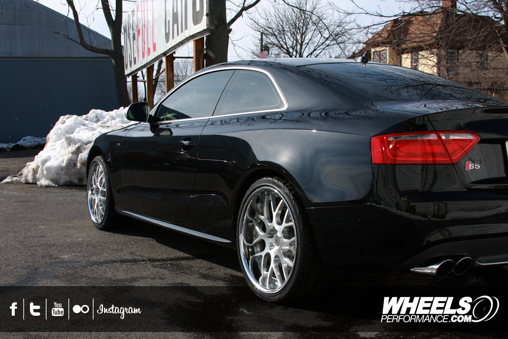 "OUR CLIENT'S AUDI S5 WITH 20"" FORZA FORGED FRZ-950 WHEELS"