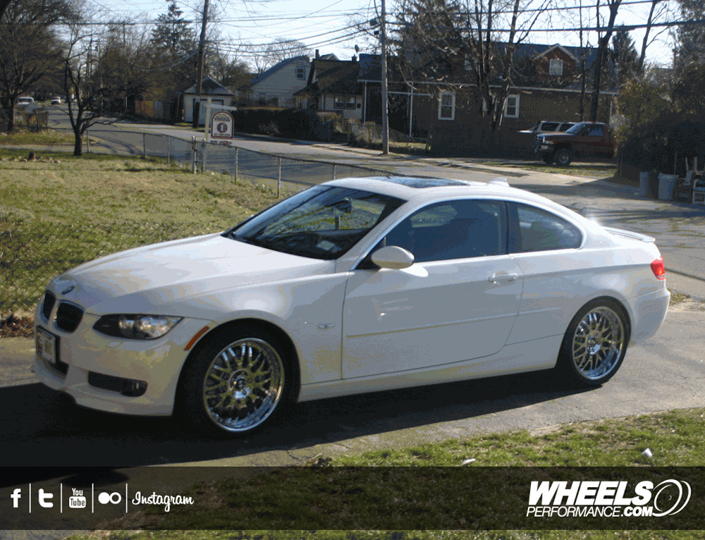 "OUR CLIENT'S BMW 335i WITH 19"" ASANTI AF-120 WHEELS"