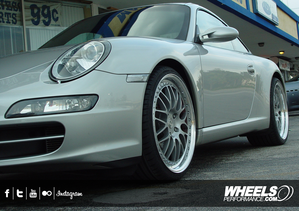 "OUR CLIENT'S PORSCHE 997 S WITH 20"" HRE 540 WHEELS"