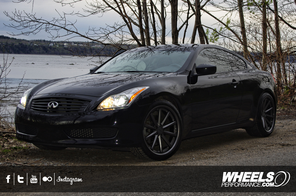 "OUR CLIENT'S INFINITI G37 WITH 20"" VOSSEN CV1 WHEELS"