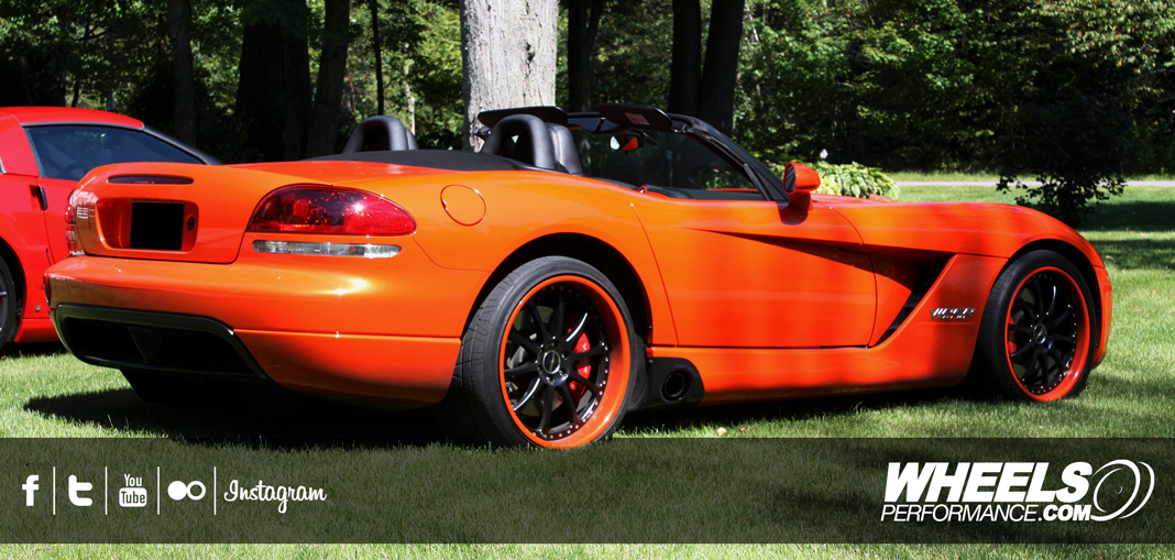 "OUR CLIENT'S DODGE VIPER SRT-10 WITH 19/20"" FORGELINE ZX3P WHEELS."