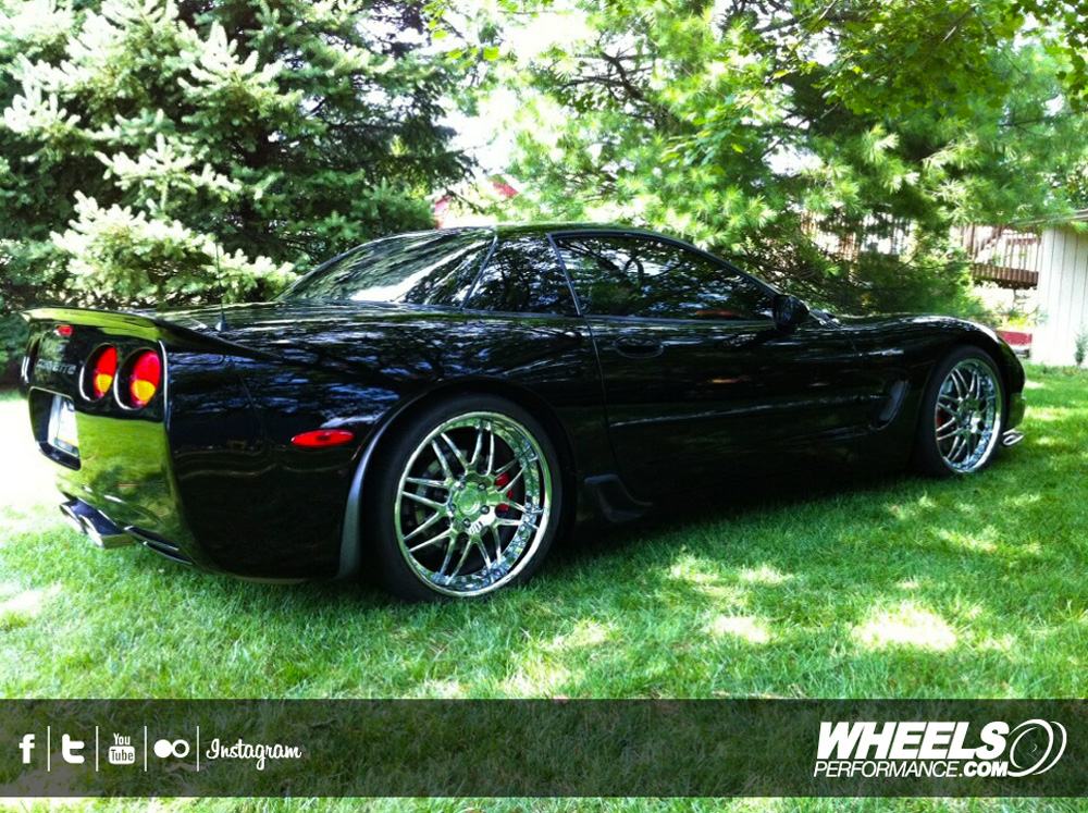 "OUR CLIENT'S CHEVROLET CORVETTE C5 Z06 WITH 19/20"" MODULAR CONCEPT WHEELS"