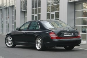 BRABUS MAYBACH BACK