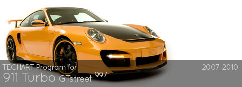 TECHART Program for 997 Turbo: GT Street