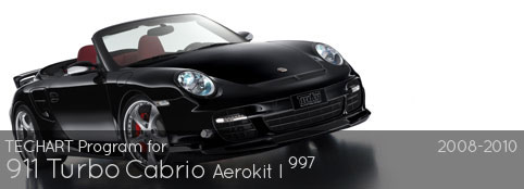 TECHART PROGRAM FOR 997 TURBO CABRIO