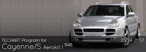 TECHART PROGRAM FOR CAYENNE, CAYENNE S: AERO I