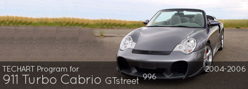 TECHART PROGRAM FOR 996 TURBO: GT STREET CABRIO
