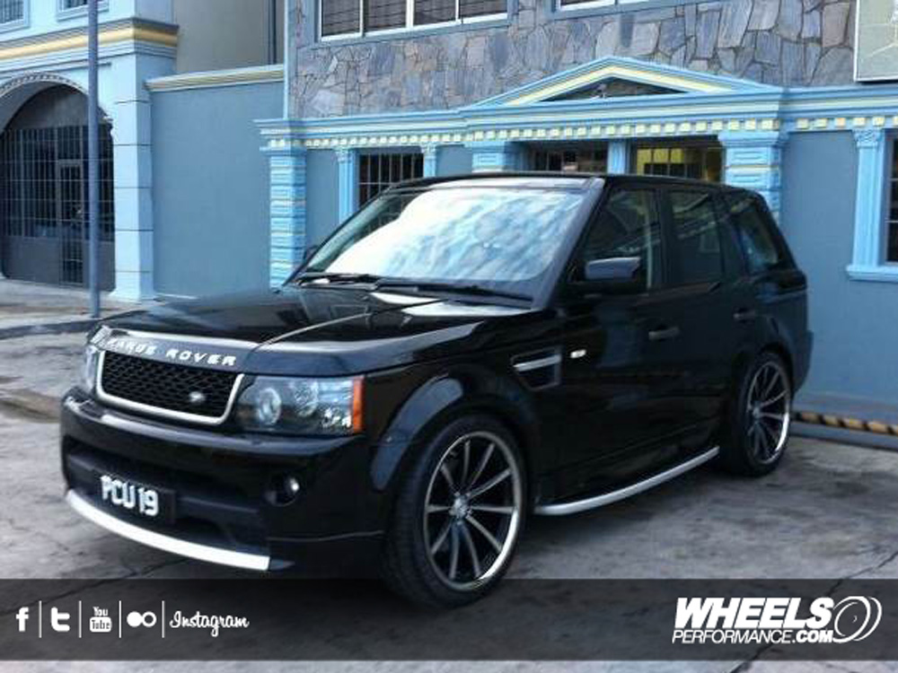 "OUR CLIENT'S RANGE ROVER SPORT WITH 22"" VOSSEN CV1 WHEELS"