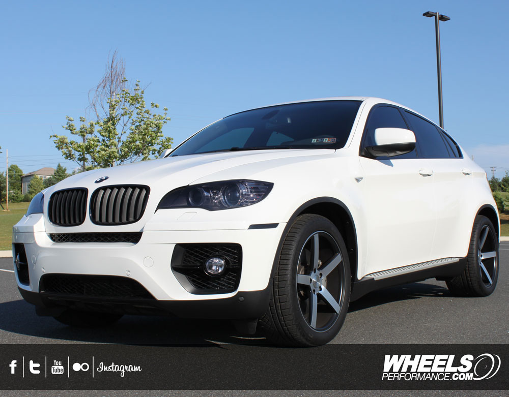 "OUR CLIENT'S BMW X6 WITH 20"" VOSSEN CV3 WHEELS"