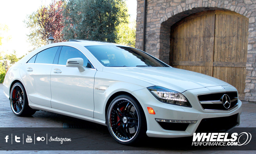 "OUR CLIENT'S MERCEDES CLS63 AMG WITH 20"" MODULAR CONCEPT 03 WHEELS."