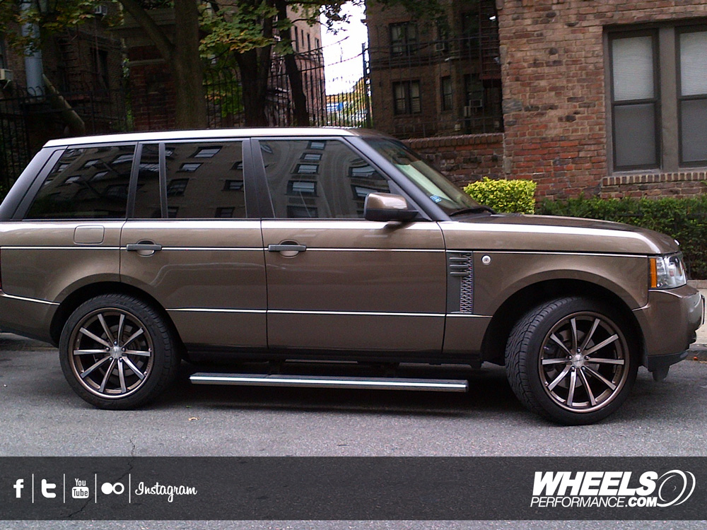 "OUR CLIENT'S RANGE ROVER WITH 22"" VOSSEN CV1 WHEELS"