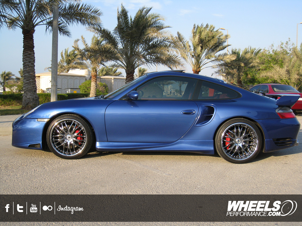"OUR CLIENT'S PORSCHE 996 TURBO WITH 19"" ASANTI AF-147 WHEELS"