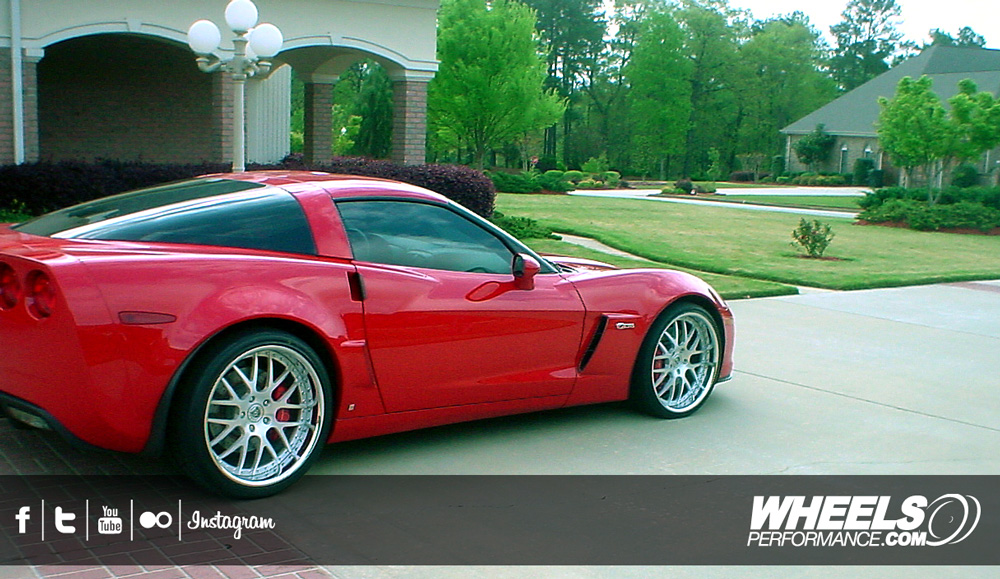OUR CLIENT'S CHEVROLET CORVETTE C6 Z06