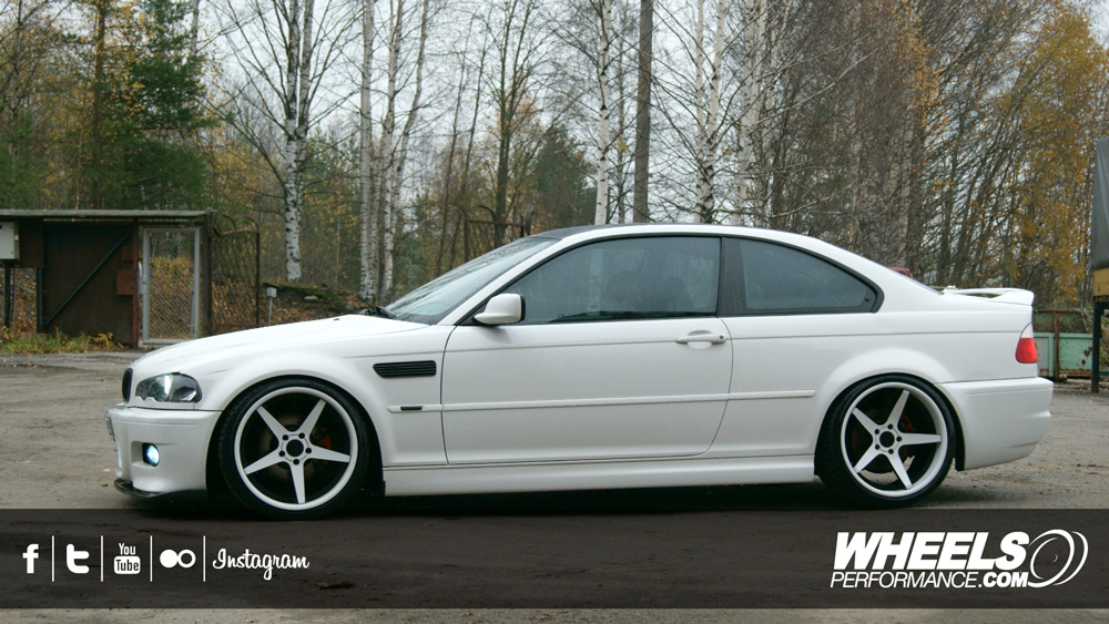 "OUR CLIENT'S BMW 325 WITH 19"" 360 FORGED CONCAVE 5IVE WHEELS"
