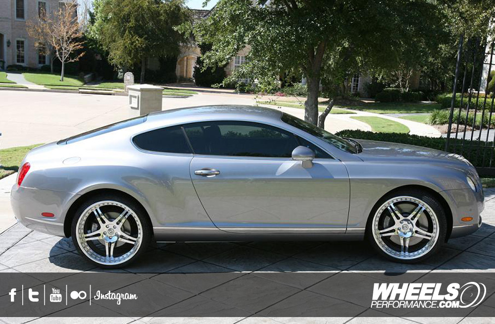 "OUR CLIENT'S BENTLEY GT WITH 22"" HRE 647R WHEELS"