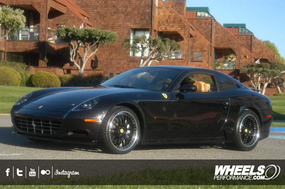 "OUR CLIENT'S FERRARI 612 SCAGLIETTI WITH 20"" HRE 540R WHEELS"