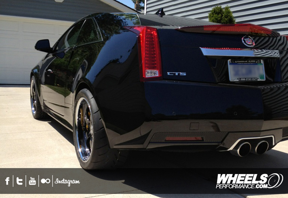 "OUR CLIENT'S CADILLAC CTS-V WITH 20"" ISS FORGED SIMPLEX 5 WHEELS"