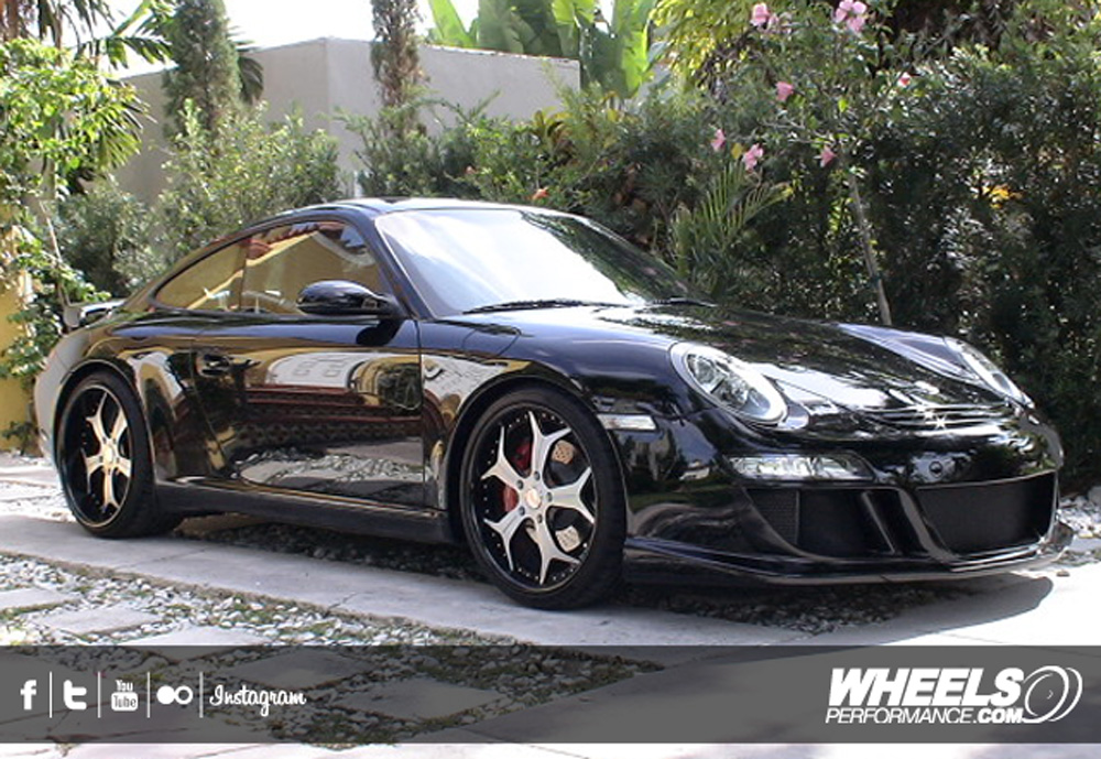 "OUR CLIENT'S PORSCHE 997 WITH 20"" VELLANO VSX WHEELS"
