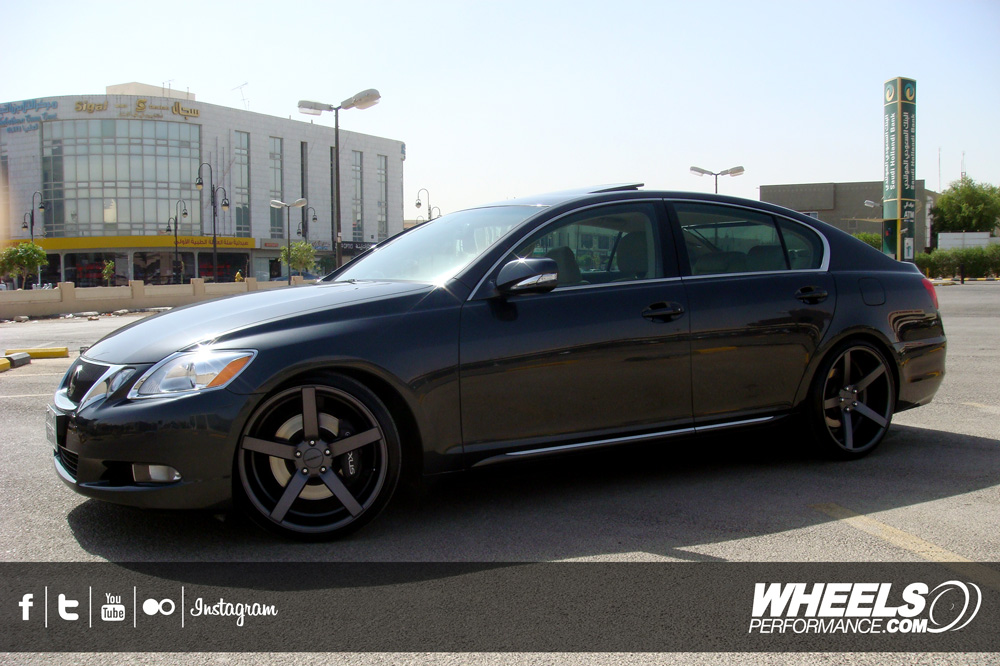 "OUR CLIENT'S LEXUS GS350 WITH 20"" VOSSEN CV3 WHEELS"