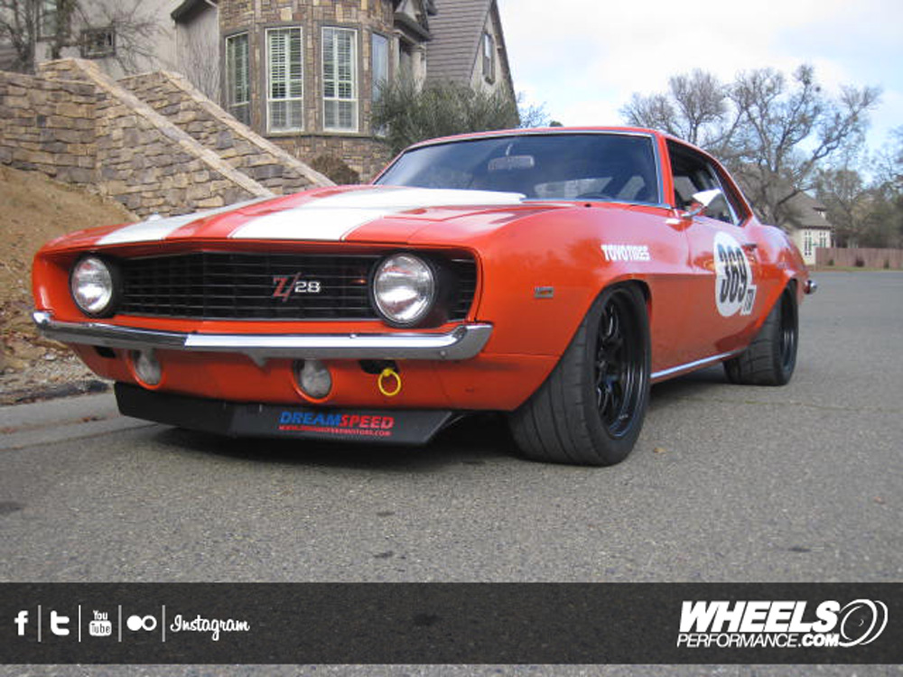 """OUR CLIENT'S CHEVROLET CAMARO WITH 17"""" FORGELINE GA3R WHEELS"""
