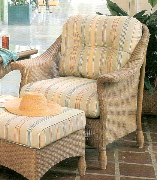 Outdoor Furniture Repair Deer Park Ny: Lloyd Flanders Embassy Chair Replacement Cushions