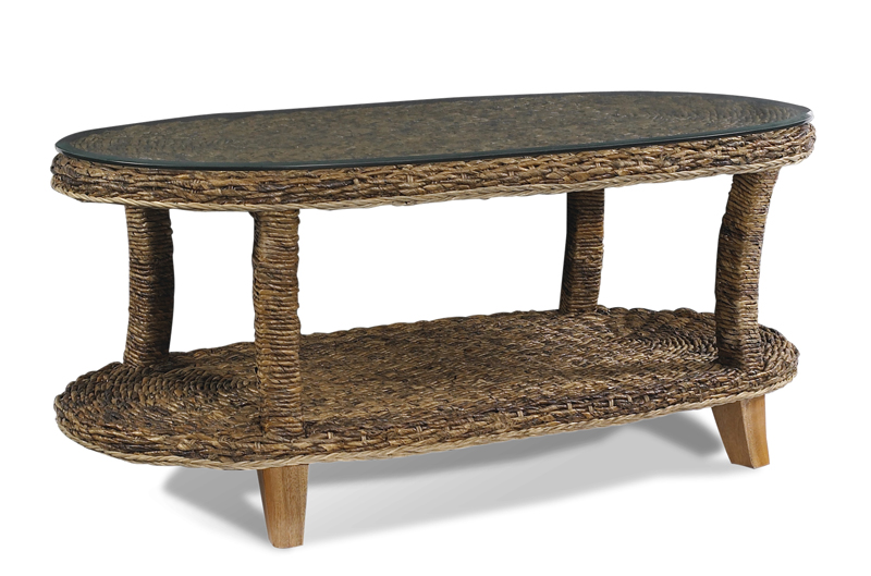 Seagrass coffee table wicker paradise for Seagrass coffee table