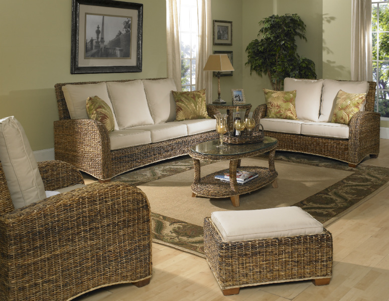 Seagrass Furniture | St. Kitts Seagrass | Wicker Paradise