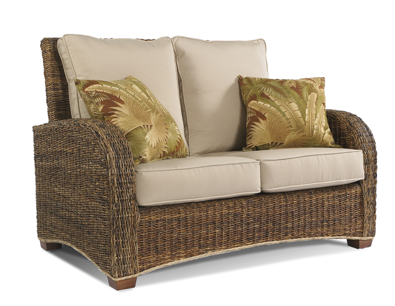 Seagrass Loveseat Tropical St Kitts