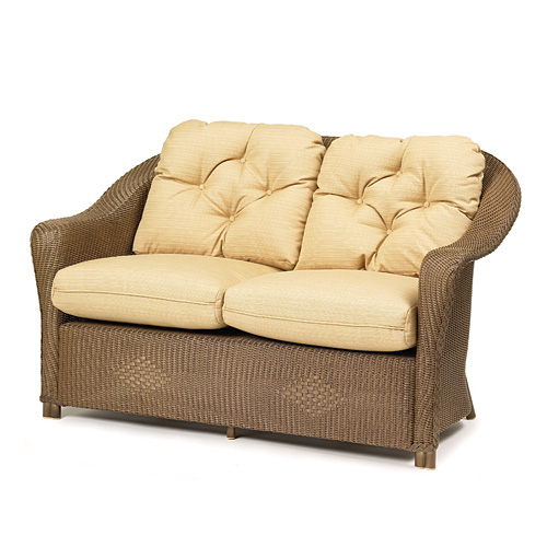 Outdoor Furniture Repair Deer Park Ny: Lloyd Flanders Reflections Loveseat Replacement Cushions